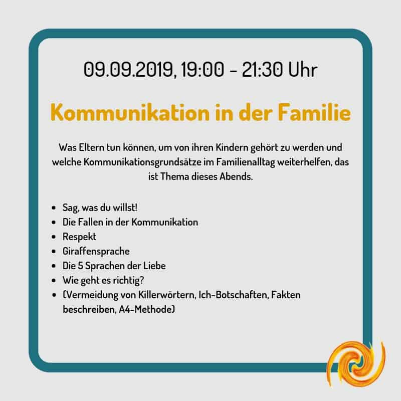 Kommunikation in der Familie